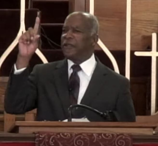Historic Bethel Baptist Church Rev. Dr. Timothy Stewart preaching on April 26, 2020